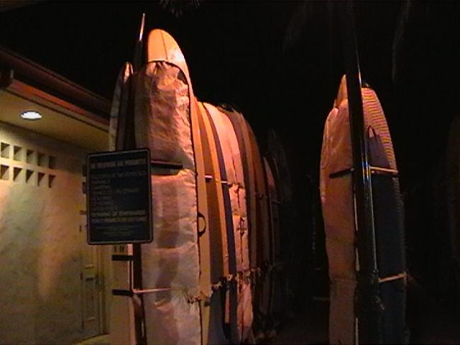 Surf boards, long boards