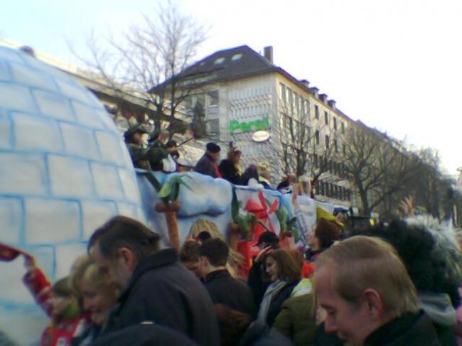 Karneval auf der Kö, Düsseldorf,