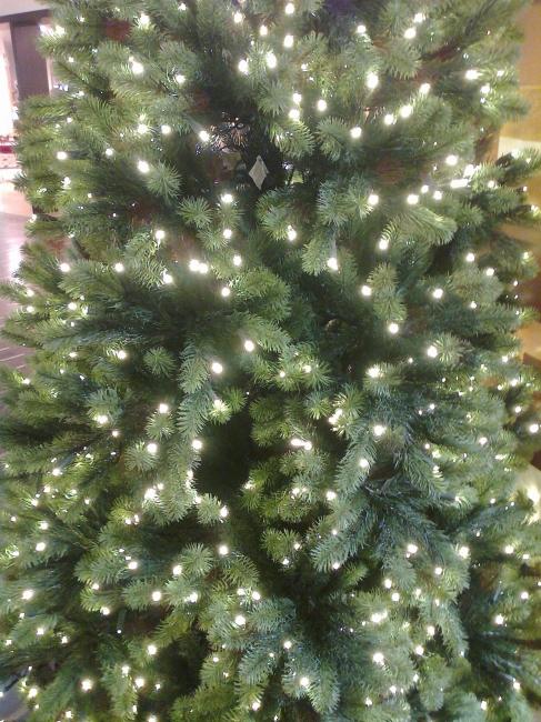 Christmas tree with LED lighting,