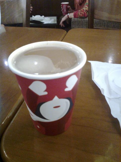 Starbuck's X-mas paper cup,