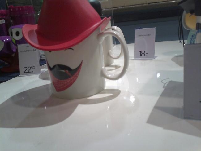 Cowboy mug,
