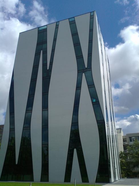 Neue Mediziner Bibliothek an der Uni Düsseldorf,