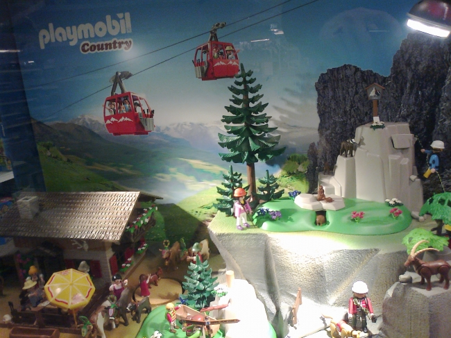 Playmobil Country, Seilbahn diorama