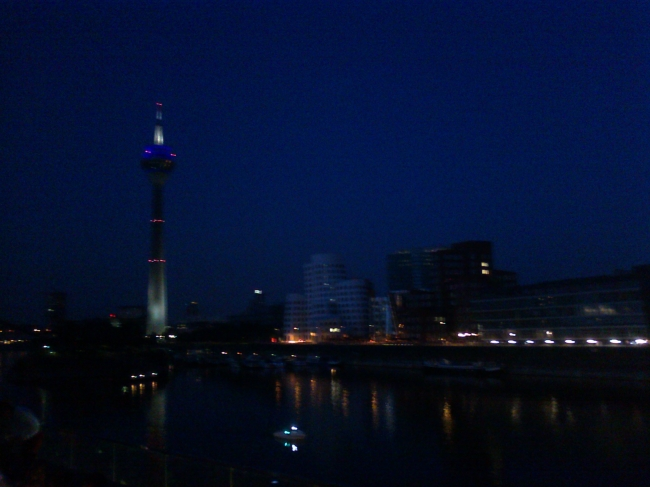 Medienhafen evening,