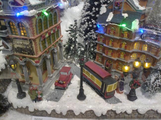 Christmas Village at Bestfalia, Mail oder shop Westfalia in its shop at Limbecker Platz