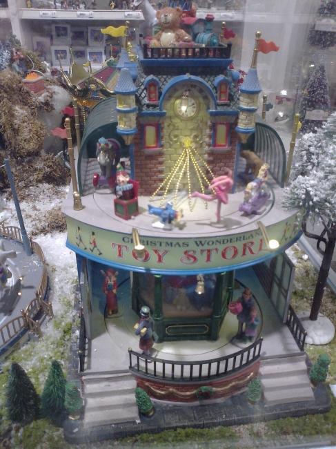 "Toy Store miniature at Bestfalia, ""Christmas Wonderland"""
