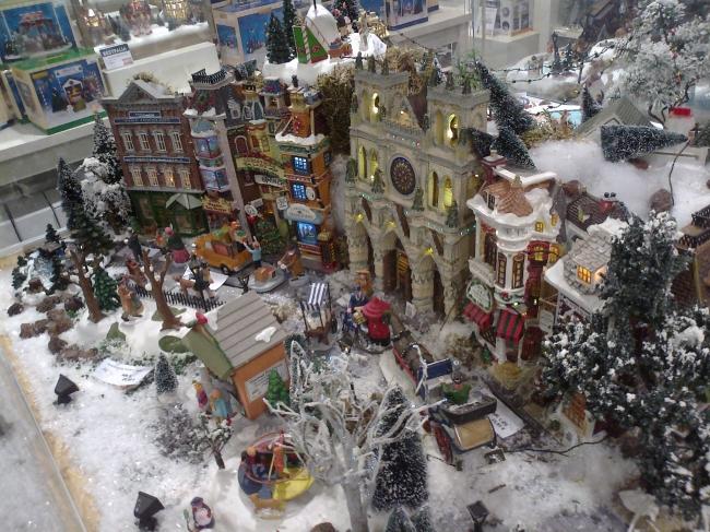 Christmas diorama,