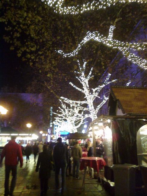 Essen gearing up towards Weihnachtsmarkt,