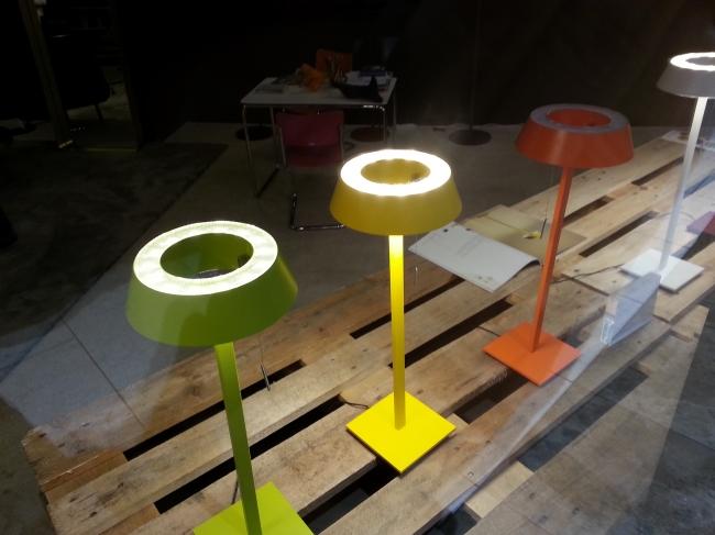 Designlampen in der Kö-Galerie,