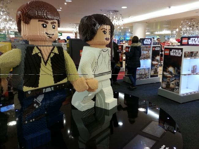 Han und Leia LEGO,