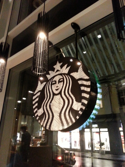 Starbuck's Schadow-Arkaden,