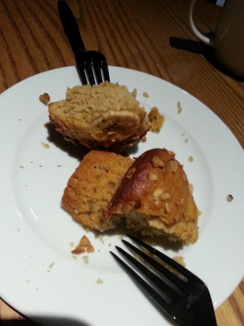 Banane-Walnuß-Muffin, @ Starbucks Schadow Arkaden
