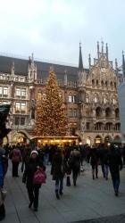 Weihnachtsbaum und Wei...