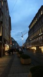 Ende Maximilanstrasse ...
