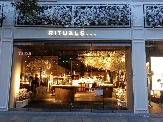 Rituals, neuer Laden in der Altstadt,