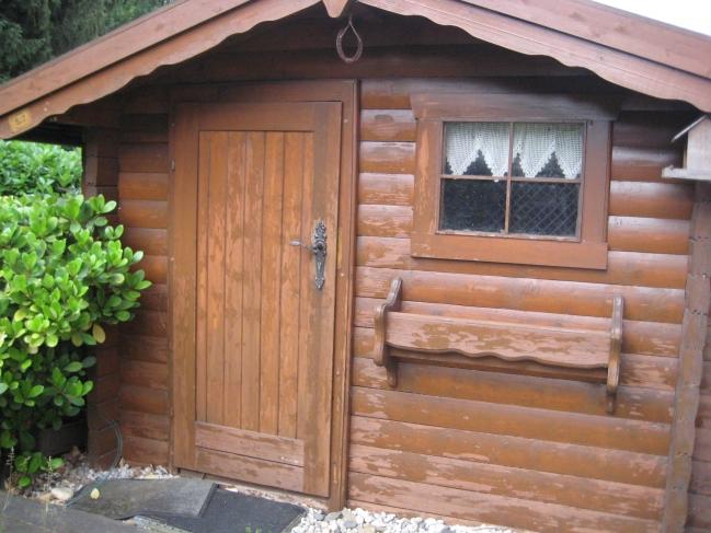 Wooden cabin,