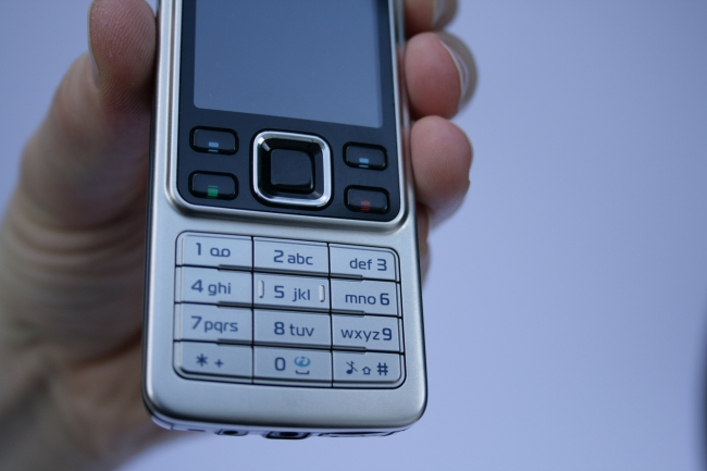 Presenting the Nokia 6300, in silver, frontal