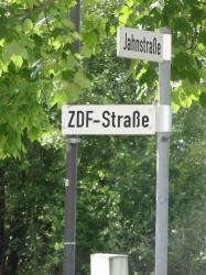 ZDF Straße, Ecke Betas...