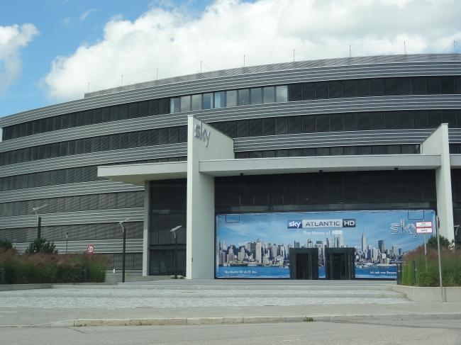 Sky Deutschland HQ an der Betastraße,