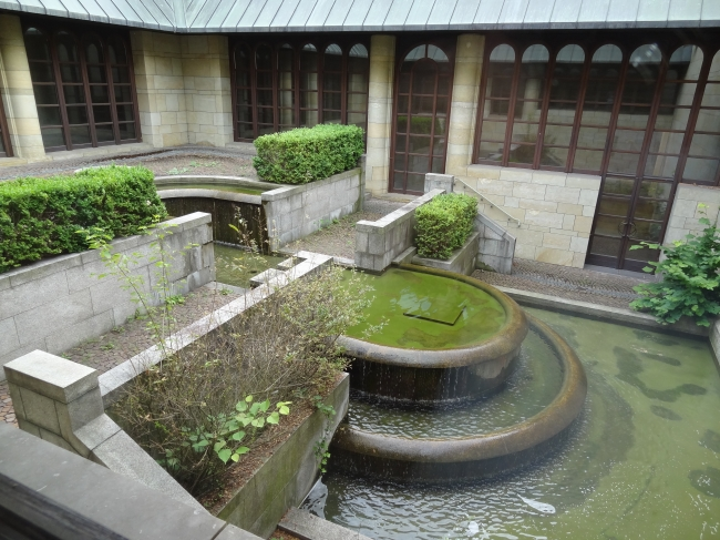 Brunnen im Innenhof,