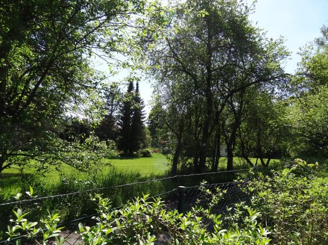 Parkanlage 2 am Starnberger See in der Nähe von München,
