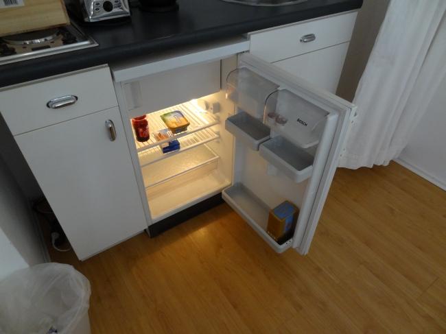 Leerer Kühlschrank!,