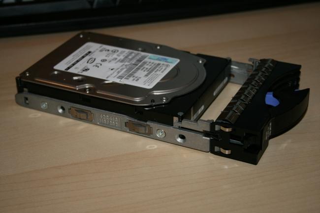 IBM x3650 drive tray,