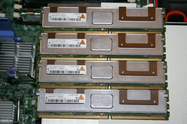 IBM memory DIMMs,