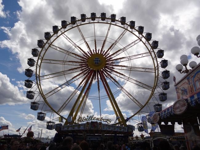 Riesenrad, Frühlingsfest, Theresienwiese