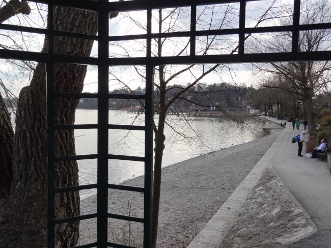 Promenade vom Pavillon aus, Starnberger See