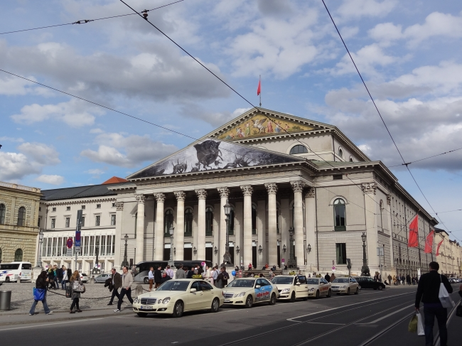Opernplatz, Munich,