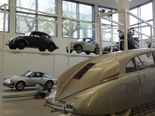 Old Volkswagon, Pinakothek der Moderne, Munich