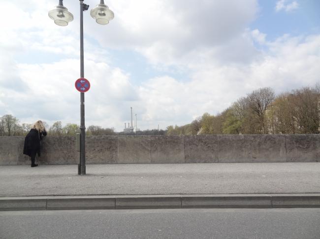 Munich bridge and ugliness,