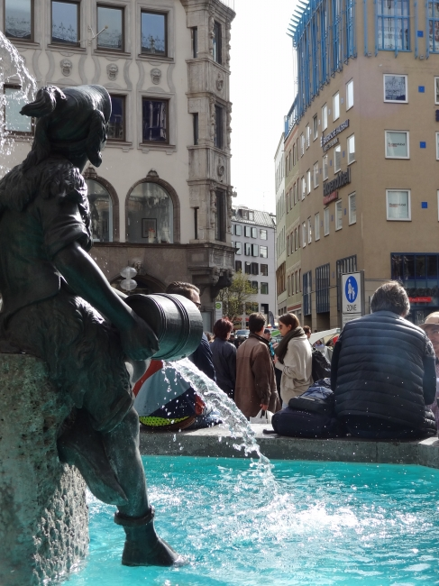 Der Fischbrunnen, München