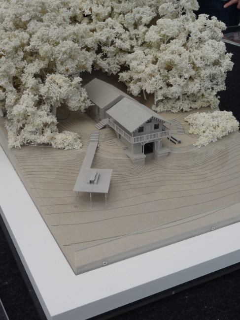 Architectural model, Pinakothek der Moderne, Munich