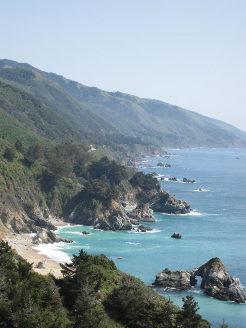 Rocky beaches,