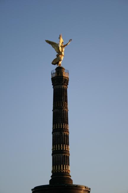 Siegessäule, Berlin, der goldene Engel