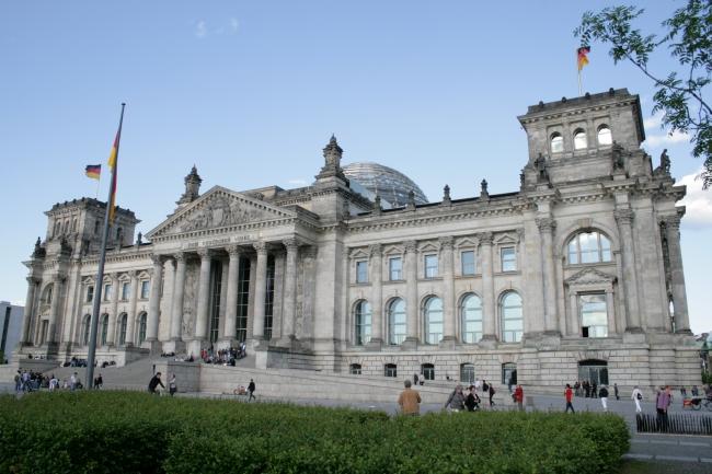 German Reichstag, in Berlin, Germany