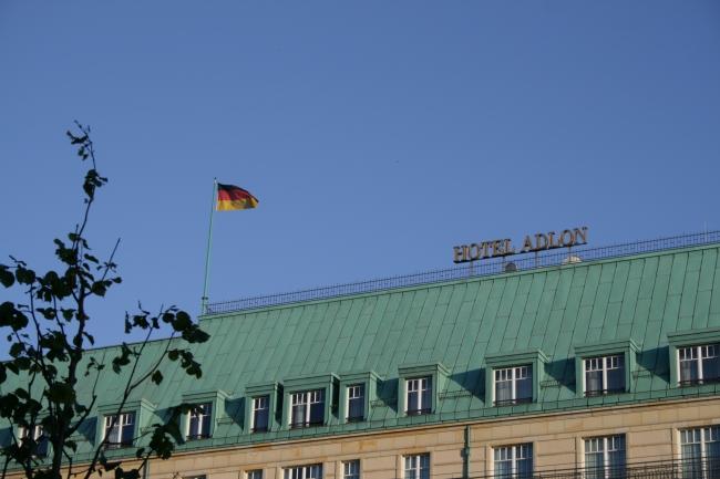 Dach des Hotel Adlon, Unter den Linden, Berlin