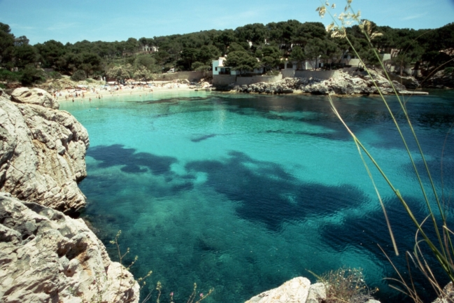 Cala Gat chrystal water,