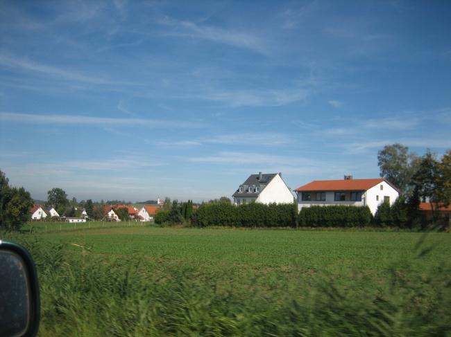 Häuser im Norden von München,