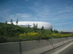 Allianz Arena von der ...
