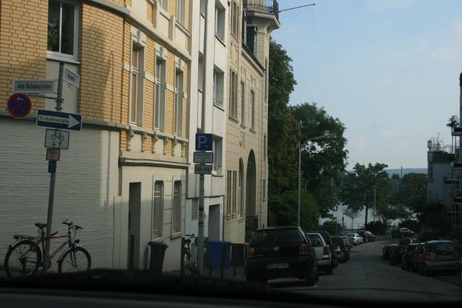 Am Schänzchen, Richtung Rhein