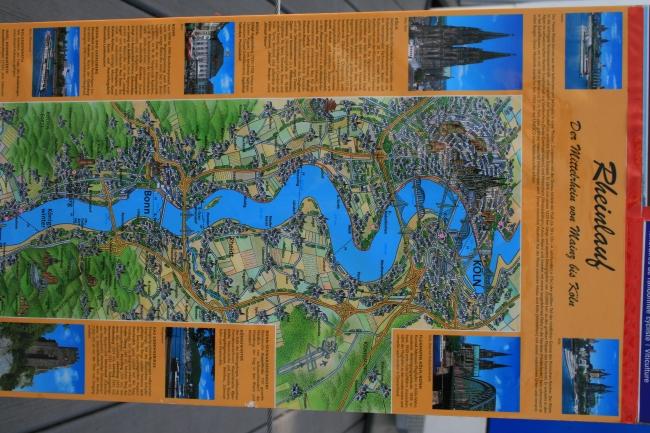 Der Rheinlauf,