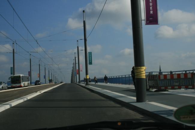 Auf der Kennedy Brücke,
