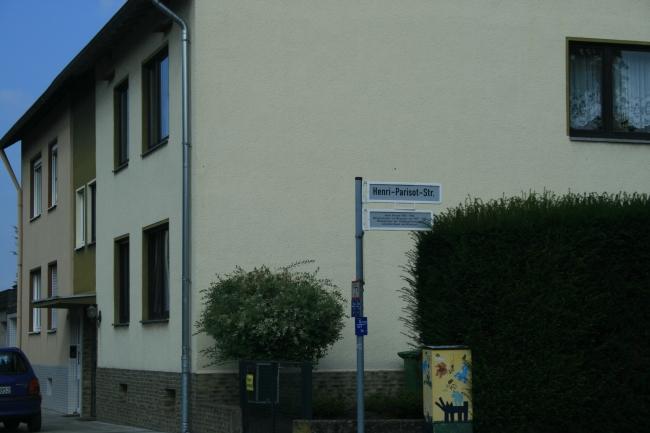 Henri Parisot Straße in Bonn,
