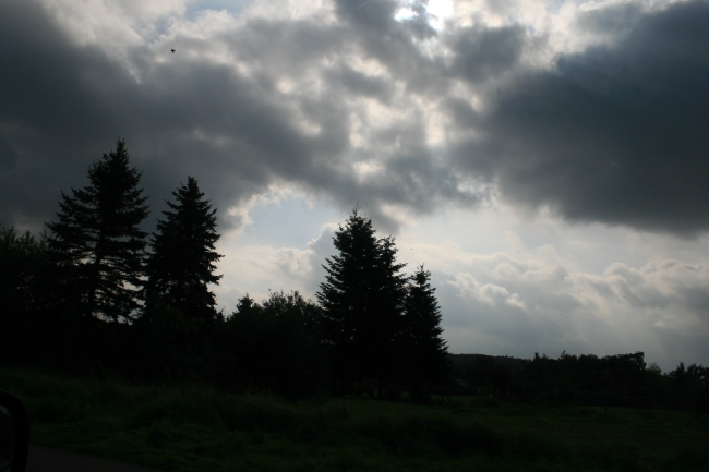 Himmel über Bonn Pützchen,