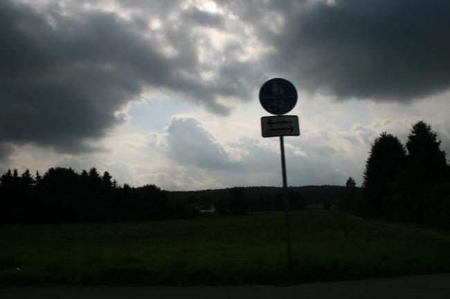 Acker in Bonn Pützchen,