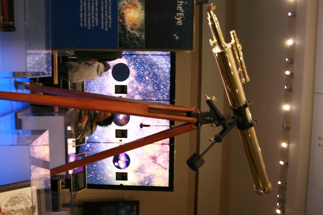 Copper Telescope in the exhibition at Griffith Park Observatory,