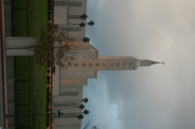 Los Angeles California Temple (formerly the Los Angeles Temple), Santa Monica Boulevard